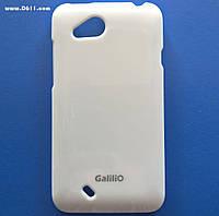 Чехол GaliliO Silicon Case для HTC Desire VC (T328d) white