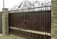 Ворота откатные ,заборы ,двери