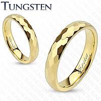 Роскошное граненое обручальное кольцо для влюбленной пары
