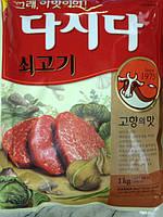 Мясной бульон в порошке( Дасида  Beef Soup Stock)1кг. Корея