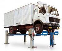 Электромеханический подъемник грузовой 20 т Италия