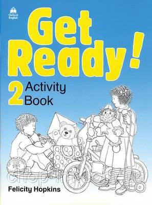 """Get Ready! 2  Workbook/Activity Book (Рабочая тетрадь по английскому языку для детей) - Интернет - магазин """"chop-lm"""" в Одессе"""