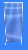 Торговая сетка на ножках (решетка торговая) 2х0.5м, Д 3мм
