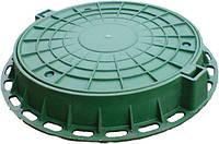 Люк канализационный пластиковый (поливинилхлорид)