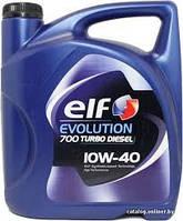 Моторное масло полусинтетическое Elf(эльф) Evolution 700 Turbo Diesel 10W-40 4л