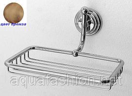 Бронзова поличка для аксесуарів у ванну Paccini&Saccardi Rome 30047