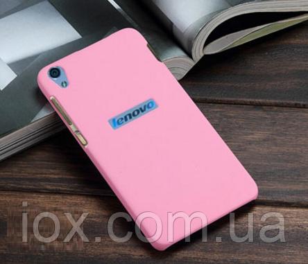 Пластиковий рожевий чохол з анти-ковзаючим покриттям для Lenovo S850