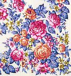 """Платок шерстяной с просновками и шелковой бахромой """"Весеннее цветение"""", фото 4"""