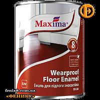 Эмаль для пола ПФ-266 износостойкая ТМ Махіма (0,9кг)красно-коричневая