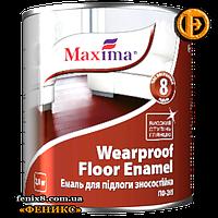 Эмаль для пола ПФ-266 износостойкая ТМ Махіма (2,8кг)красно-коричневая