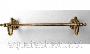 Золотой держатель для полотенца 45 см Paccini&Saccardi Rome 30049