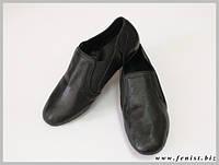 """Обувь для современных танцев """"джазовки"""" (на резинке)"""