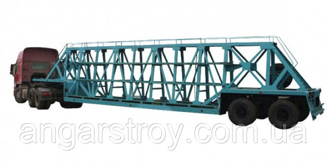 Перевозка железобетонных изделий различных видов специализированными тралами - Строительство ж/б конструкций в Николаеве
