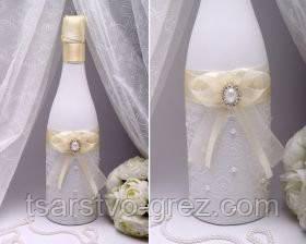 Декор для шампанского Pearl