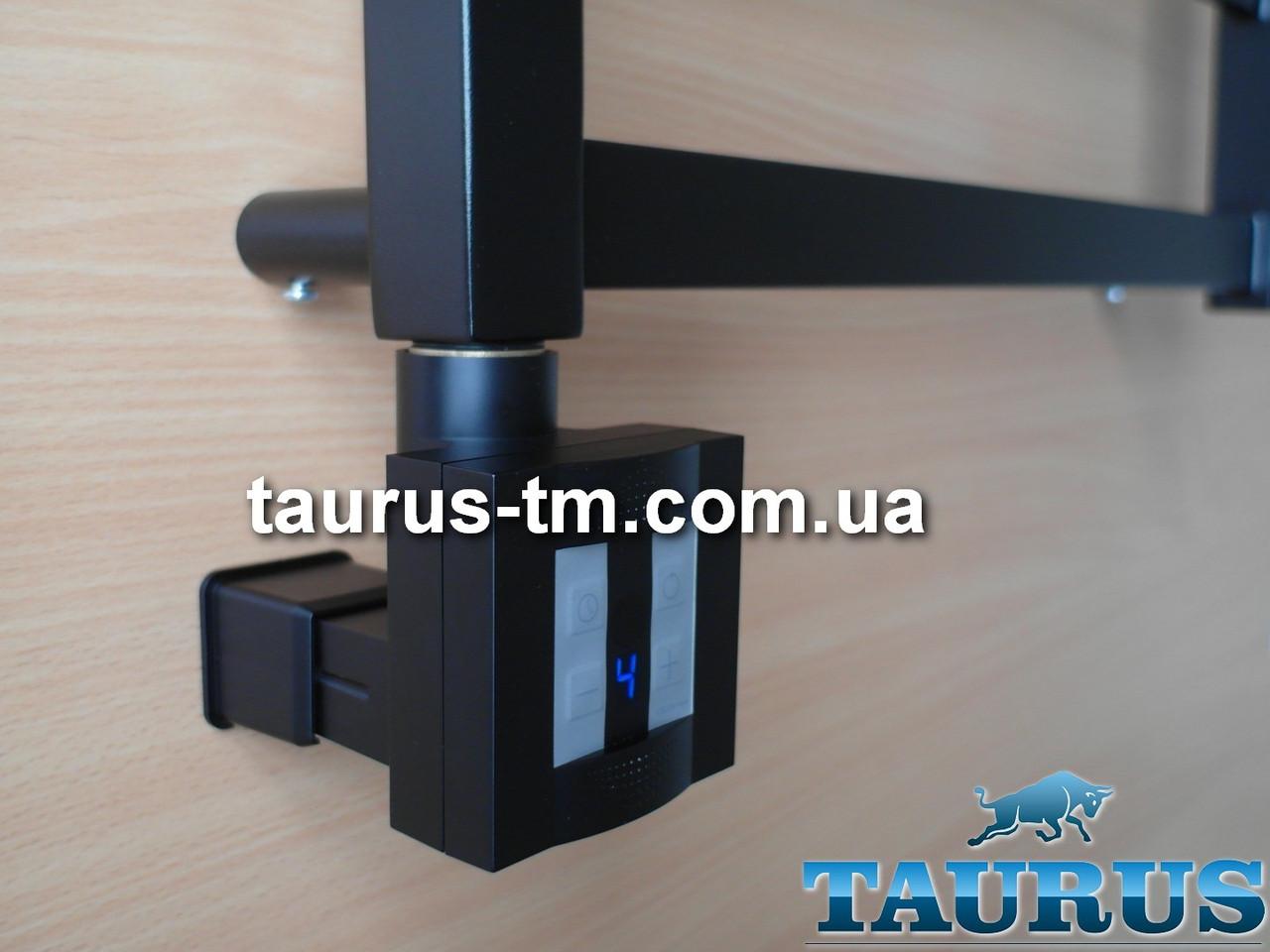 Чёрный ТЭН TERMA KTX4 MS Black c маскировкой: экран + регулятор 30-60C + таймер 1-4ч. под пульт ДУ. Польша 1/2