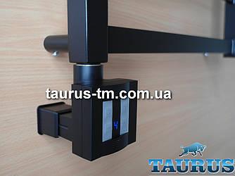 Чорний ТЕН TERMA KTX4 MS Black c маскуванням: екран + регулятор 30-60C + таймер 1-4ч. під пульт ДУ. Польща 1/2