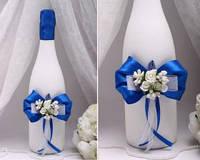 Декор для шампанского Flowers