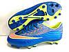 Футбольные бутсы Nike Mercurial FG Blue/Volt/Mango