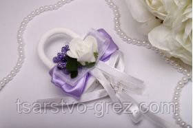 Замок Flowers purple