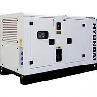 Дизельная электростанция Hyundai DHY11KSEm + ATS