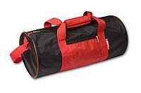 Спортивная сумка, черная с красным. Разные цвета