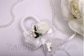 Замок Flowers white - Интернет магазин необычных подарков и полезных вещиц - Tsarstvo grez в Киеве