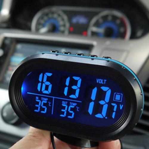 Автомобильные часы, термометры