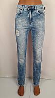 Женские джинсы с прорезями бойфренды Турция, фото 1