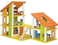 Кукольный домик Plan Тoys - Шале с мебелью