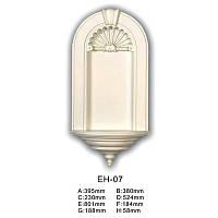 Ниша Classic Home EH-07, лепной декор из полиуретана