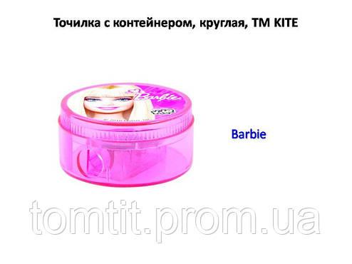 "Точилка круглая, с контейнером ""Barbie"", фото 2"