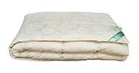 Одеяло касетное пуховое Экопух 100/0 155х215 1500г (крем), фото 1