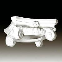 Капитель колонны Европласт 1.11.003, лепной декор из полиуретана