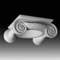 Капитель колонны Европласт 1.11.004, лепной декор из полиуретана