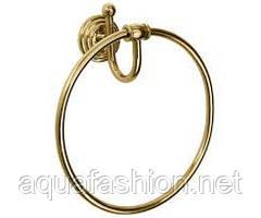 Золотое кольцо для полотенец Paccini&Saccardi Rome 30052