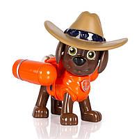 Spin Master Paw Patrol Щенячий патруль фигурка ковбоя Зума с механической функцией