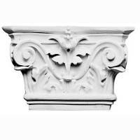 Капитель колонны Decomaster DK 5201, лепной декор из полиуретана