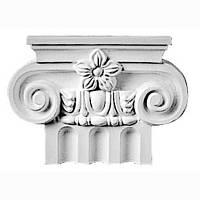 Капитель колонны Decomaster DK 5206, лепной декор из полиуретана