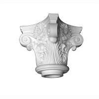 Капитель колонны Decomaster DCK 5011, лепной декор из полиуретана