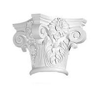 Капитель колонны Decomaster DCK 5013, лепной декор из полиуретана