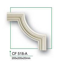 Угловой элемент Gaudi Decor CF518A, лепной декор из полиуретана