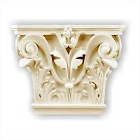 Капитель колонны Gaudi Decor PL557, лепной декор из полиуретана