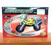 Конструктор металлический, Мотоцикл, арт.: 529-19, фото 1