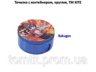 """Точилка круглая, с контейнером """"Bakugan"""", фото 2"""