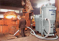 Пылесосы высокой мощности в литейных цехах