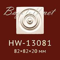 Угловая вставка Classic Home New HW-13081, лепной декор из полиуретана