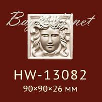 Угловая вставка Classic Home New HW-13082, лепной декор из полиуретана