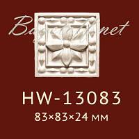 Угловая вставка Classic Home New HW-13083, лепной декор из полиуретана