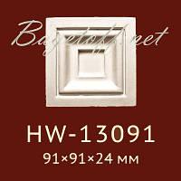 Угловая вставка Classic Home New HW-13091, лепной декор из полиуретана