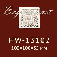 Угловая вставка Classic Home New HW-13102, лепной декор из полиуретана